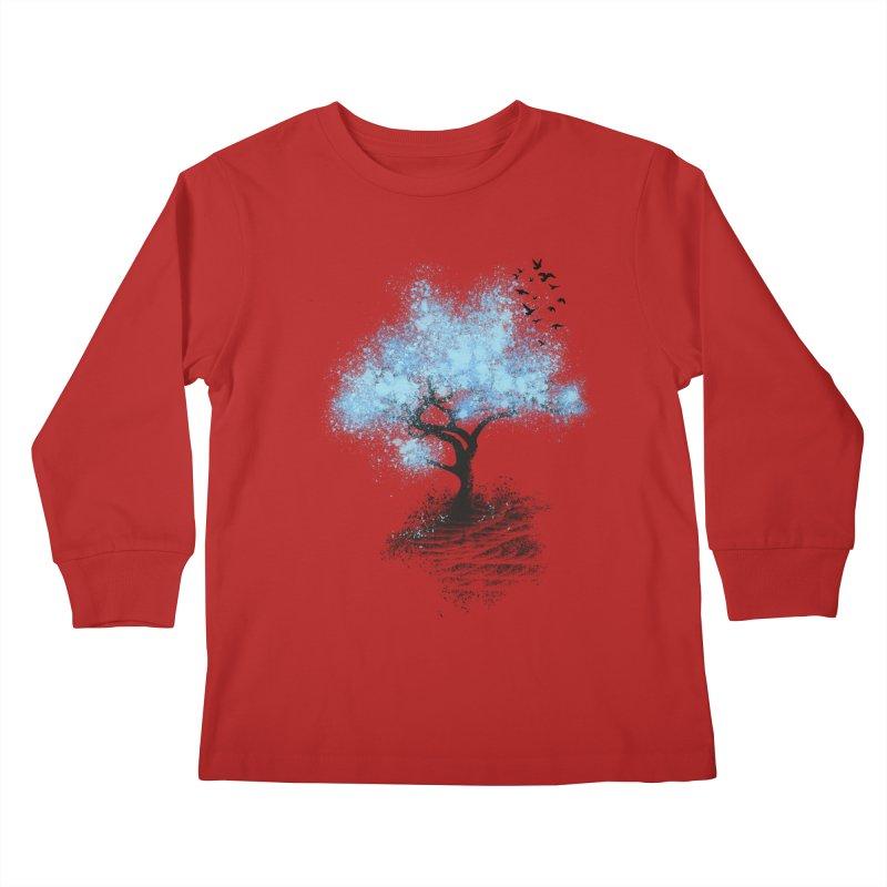 leaving home Kids Longsleeve T-Shirt by alnavasord's Artist Shop