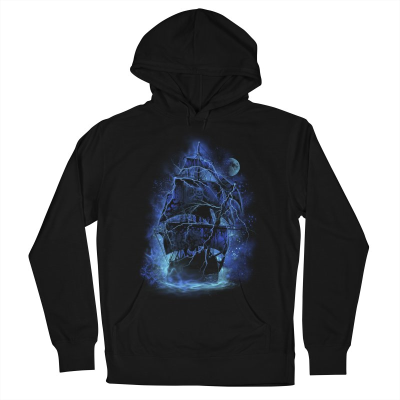 Pirate Storm Women's Pullover Hoody by alnavasord's Artist Shop