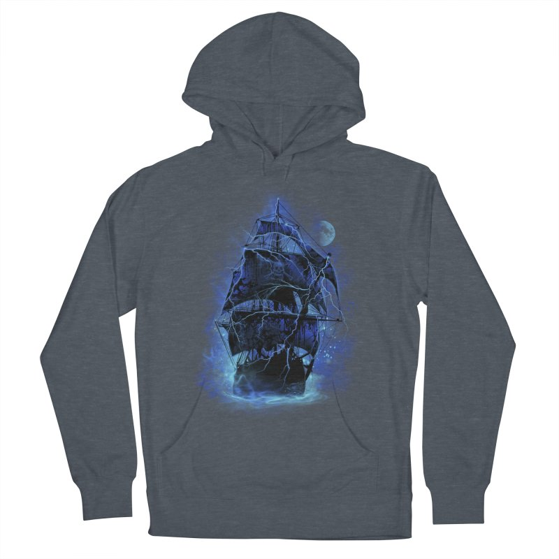 Pirate Storm Men's Pullover Hoody by alnavasord's Artist Shop