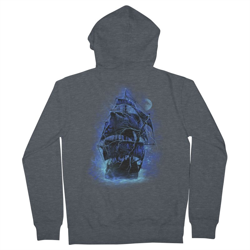Pirate Storm Women's Zip-Up Hoody by alnavasord's Artist Shop