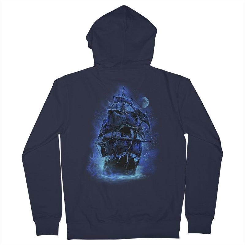 Pirate Storm Men's Zip-Up Hoody by alnavasord's Artist Shop