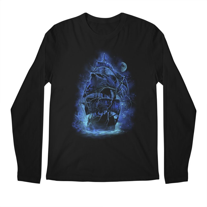 Pirate Storm Men's Longsleeve T-Shirt by alnavasord's Artist Shop