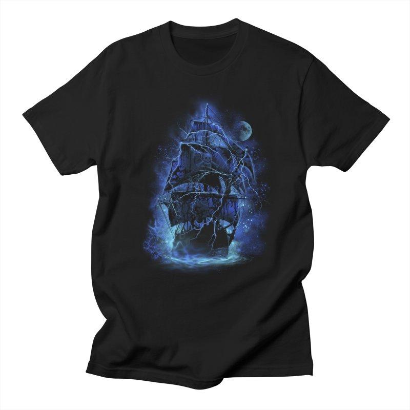 Pirate Storm Men's T-shirt by alnavasord's Artist Shop