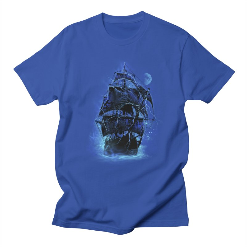 Pirate Storm Men's T-shirt by alnavasord's Artist Shop