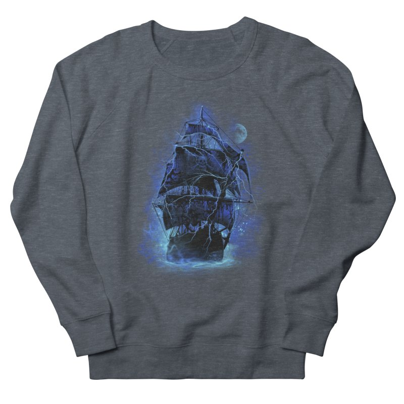 Pirate Storm Men's Sweatshirt by alnavasord's Artist Shop