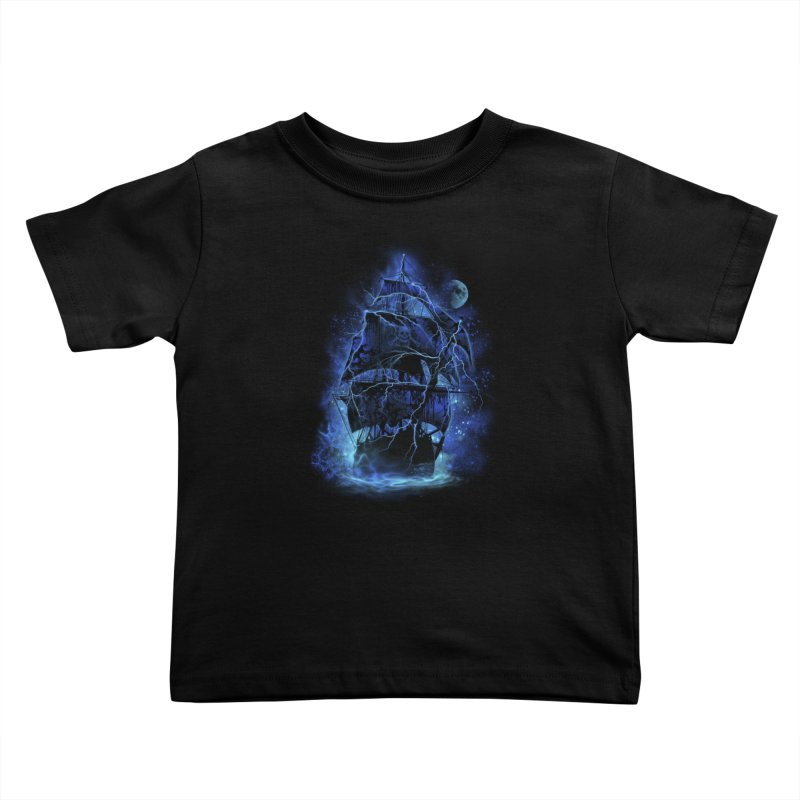 Pirate Storm Kids Toddler T-Shirt by alnavasord's Artist Shop