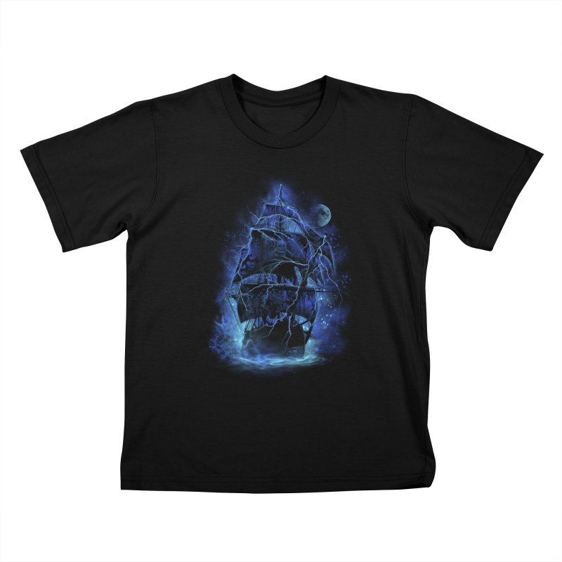 Pirate Storm Kids T-shirt by alnavasord's Artist Shop