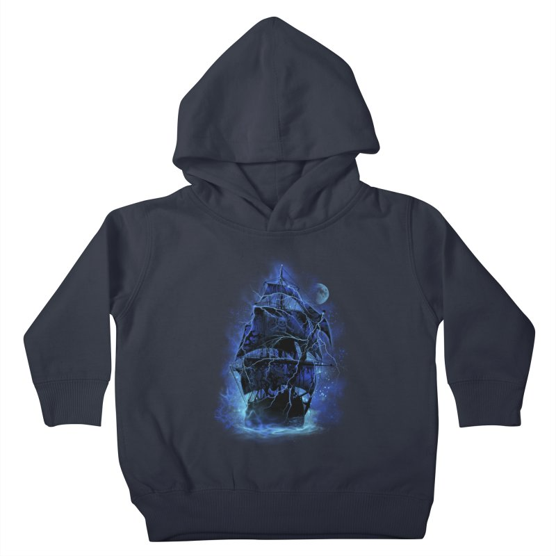 Pirate Storm Kids Toddler Pullover Hoody by alnavasord's Artist Shop