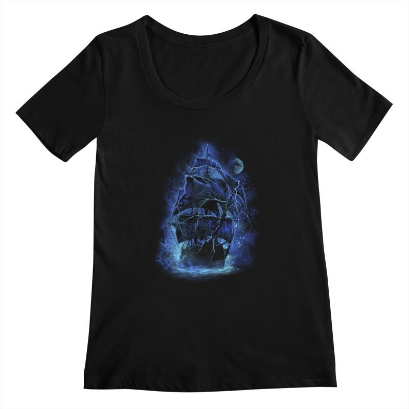 Pirate Storm Women's Scoopneck by alnavasord's Artist Shop