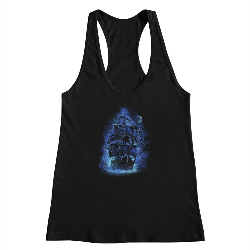 Pirate Storm Women's Racerback Tank by alnavasord's Artist Shop