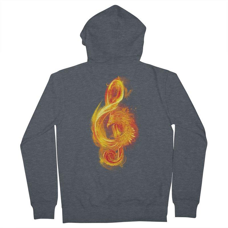 Music Reborn Men's Zip-Up Hoody by alnavasord's Artist Shop