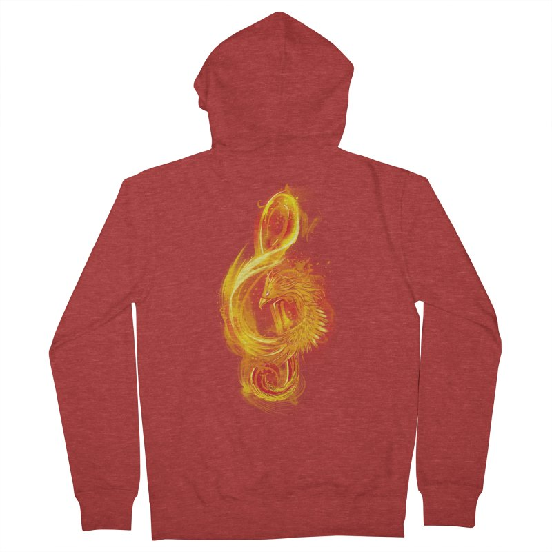 Music Reborn Men's Zip-Up Hoody by alnavasord's Artist Shop