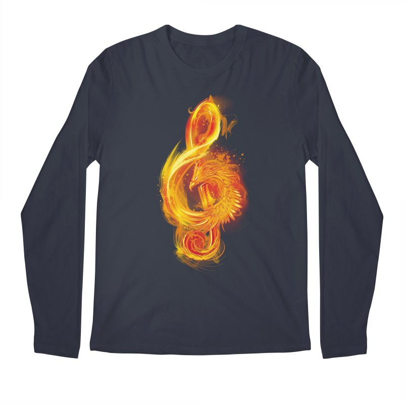 Music Reborn Men's Longsleeve T-Shirt by alnavasord's Artist Shop