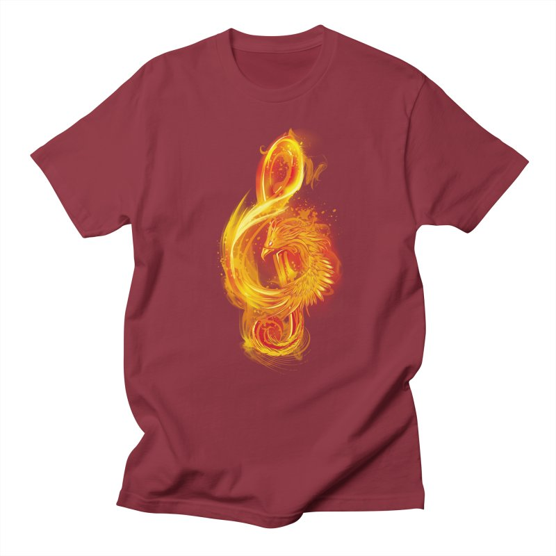 Music Reborn Men's T-shirt by alnavasord's Artist Shop