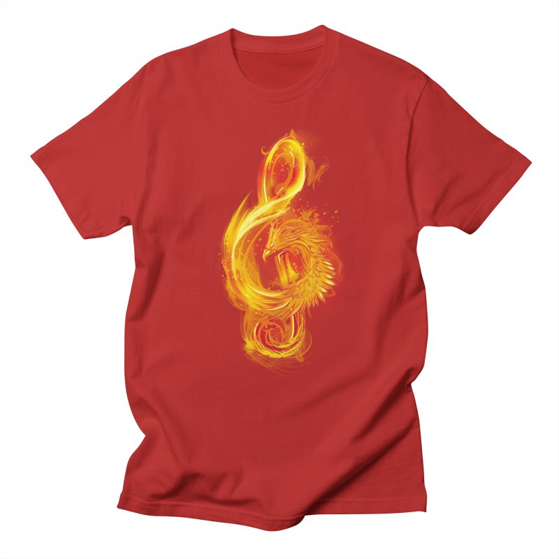 Music Reborn Men's T-shirt by alnavasord's Artist Shop