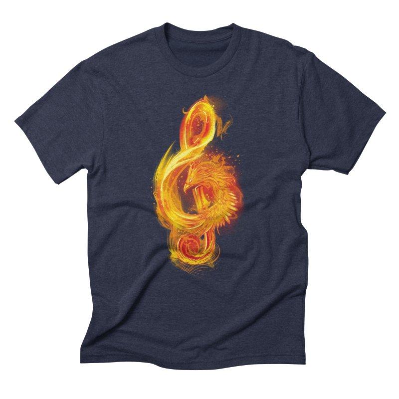 Music Reborn Men's Triblend T-Shirt by alnavasord's Artist Shop