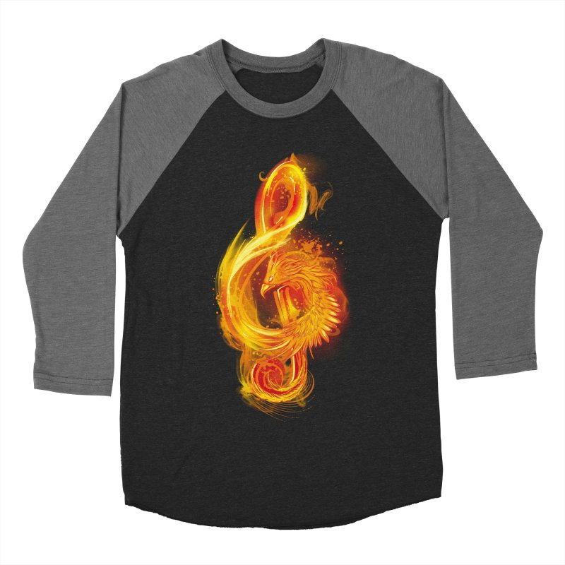 Music Reborn Men's Baseball Triblend T-Shirt by alnavasord's Artist Shop
