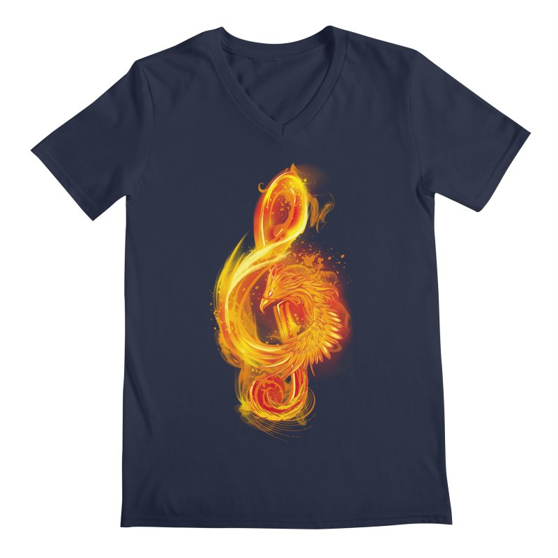 Music Reborn Men's V-Neck by alnavasord's Artist Shop
