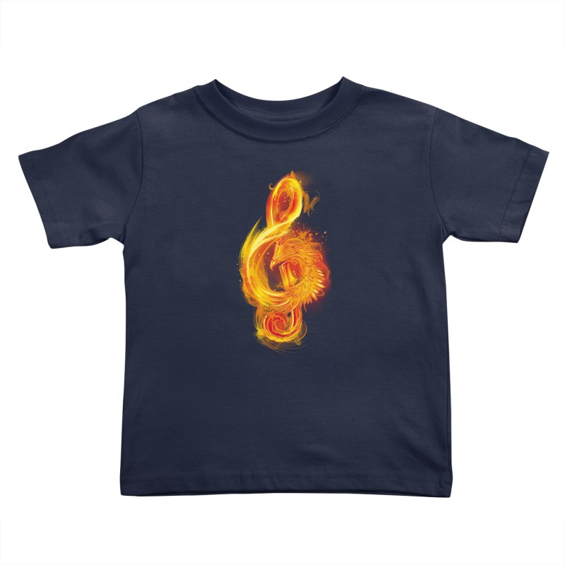 Music Reborn Kids Toddler T-Shirt by alnavasord's Artist Shop