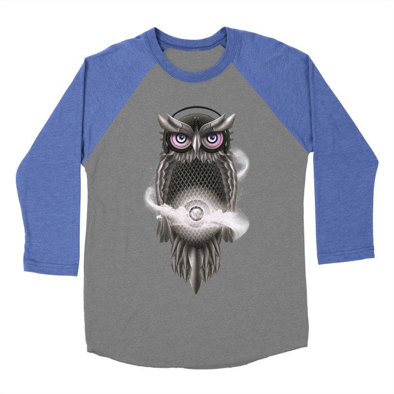 Chimera Night Men's Baseball Triblend T-Shirt by alnavasord's Artist Shop