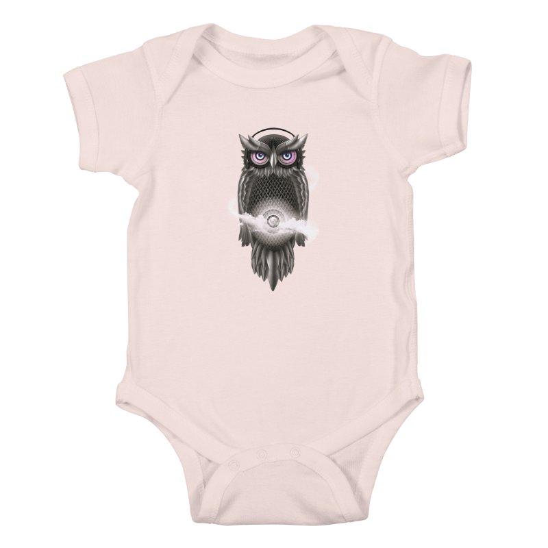 Chimera Night Kids Baby Bodysuit by alnavasord's Artist Shop