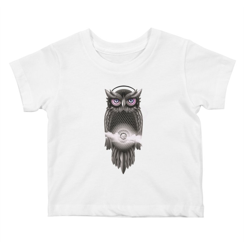Chimera Night Kids Baby T-Shirt by alnavasord's Artist Shop