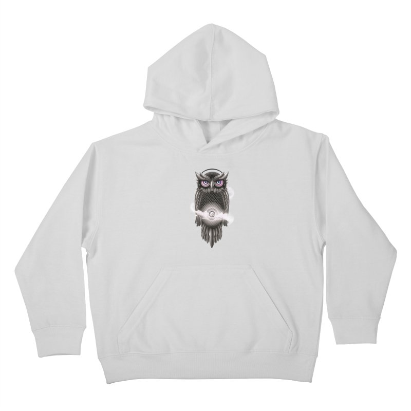 Chimera Night Kids Pullover Hoody by alnavasord's Artist Shop