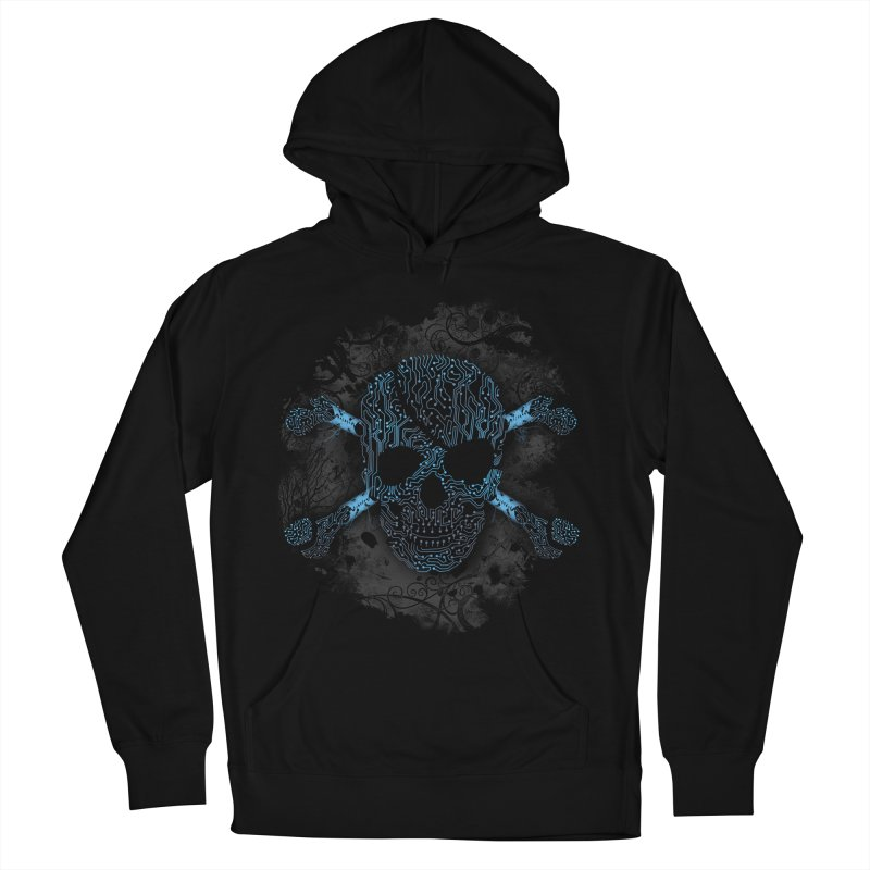 cyber Pirate Men's Pullover Hoody by alnavasord's Artist Shop