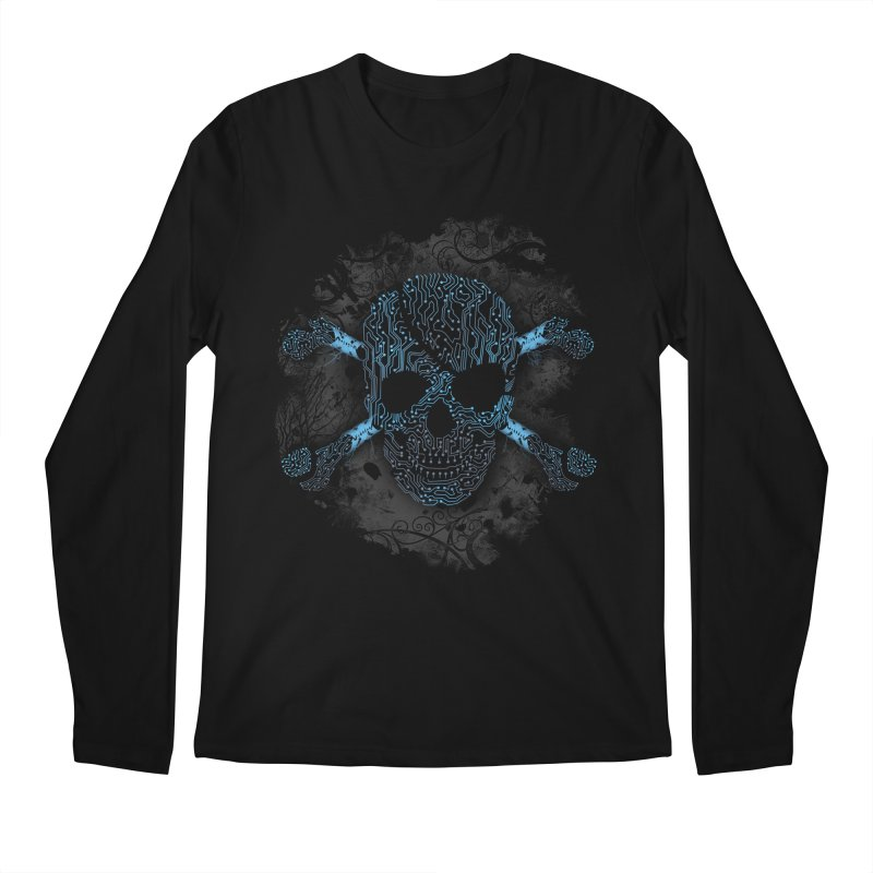 cyber Pirate Men's Longsleeve T-Shirt by alnavasord's Artist Shop