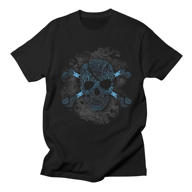cyber Pirate Men's T-shirt by alnavasord's Artist Shop