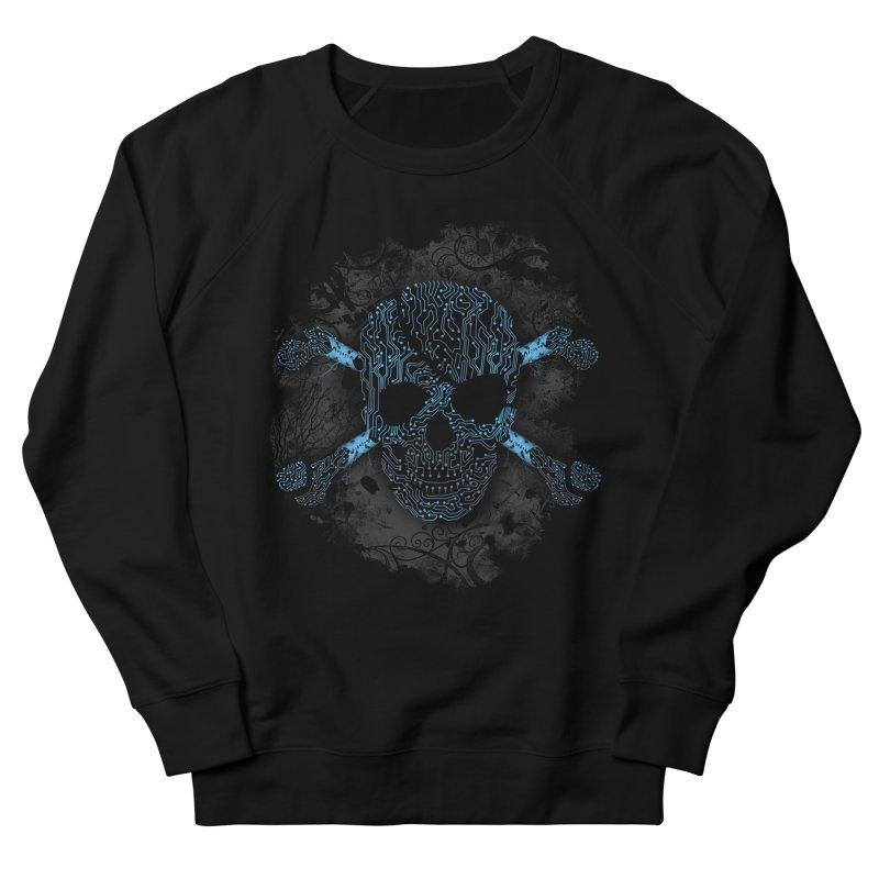 cyber Pirate Men's Sweatshirt by alnavasord's Artist Shop