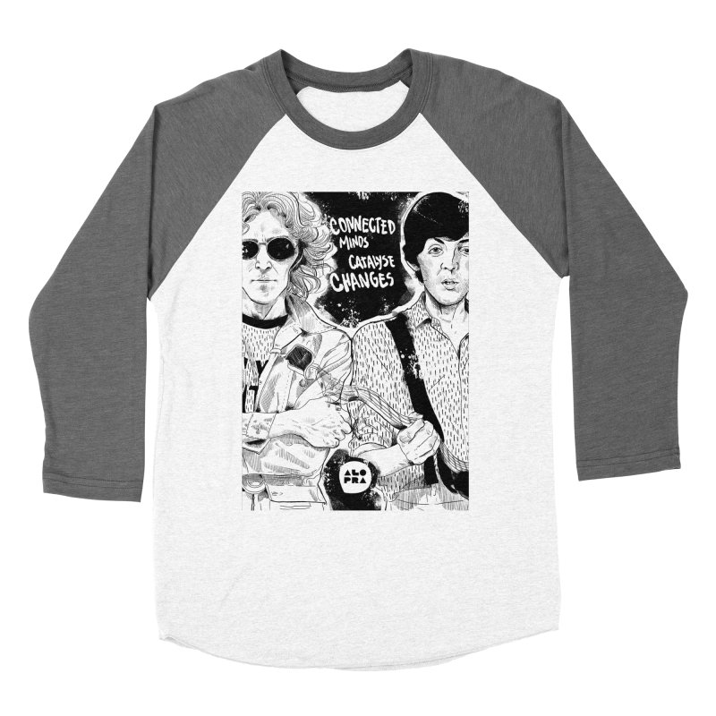 Alopra`s John and Paul | Connected Minds Catalyse Changes Women's Longsleeve T-Shirt by Alopra's Shop