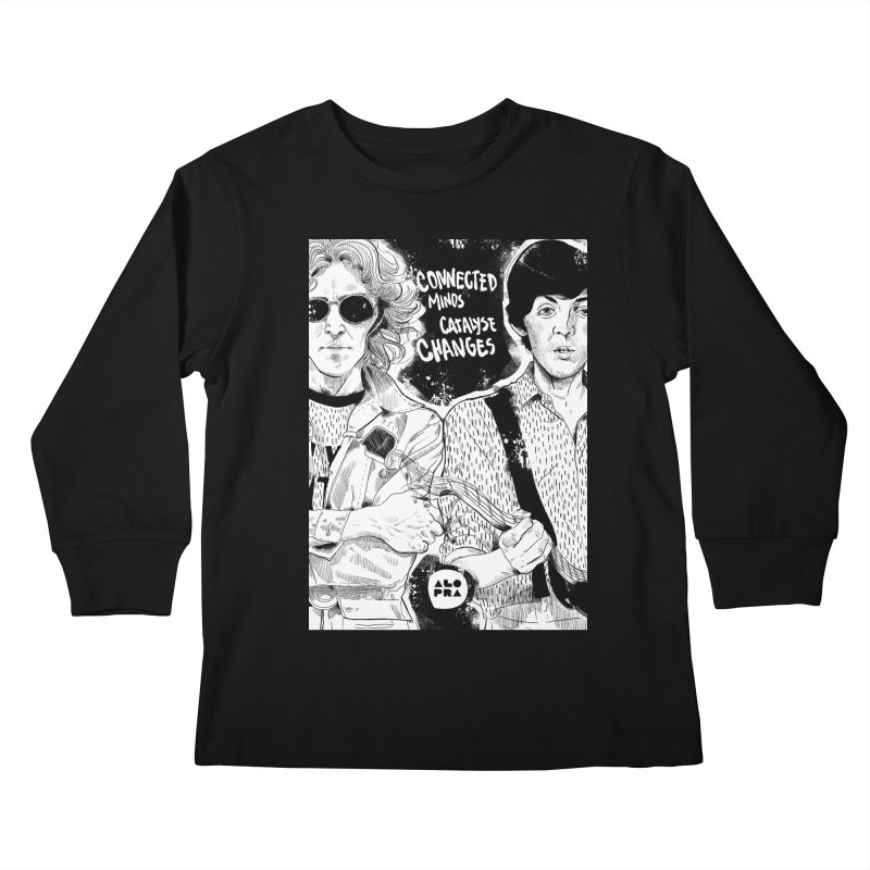 Alopra`s John and Paul | Connected Minds Catalyse Changes Kids Longsleeve T-Shirt by Alopra's Shop