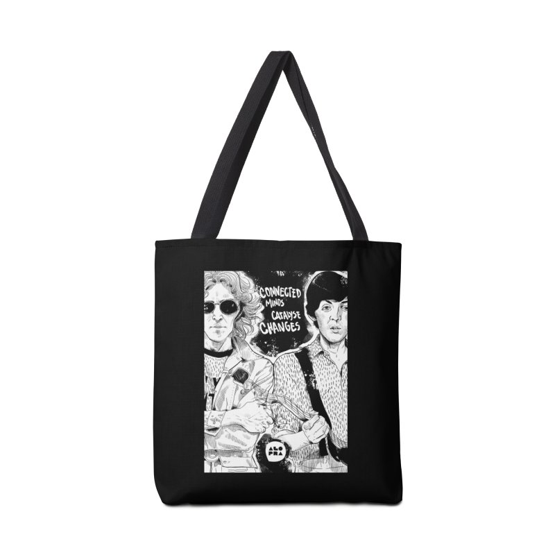 Alopra`s John and Paul | Connected Minds Catalyse Changes Accessories Tote Bag Bag by Alopra's Shop