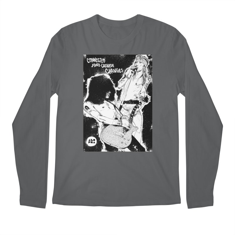 Alopra`s Axl and Slash | Connected Minds Catalyse Changes Men's Longsleeve T-Shirt by Alopra's Shop