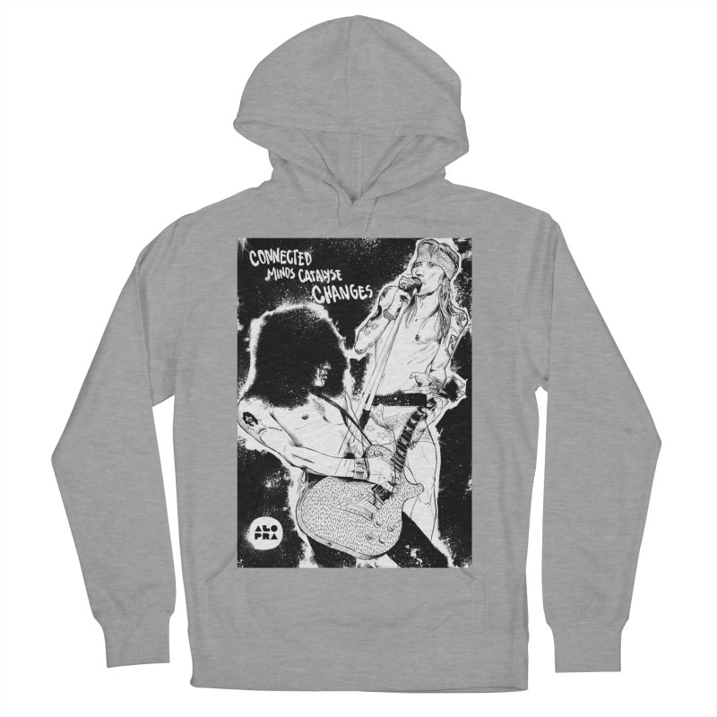 Alopra`s Axl and Slash | Connected Minds Catalyse Changes Women's French Terry Pullover Hoody by Alopra's Shop