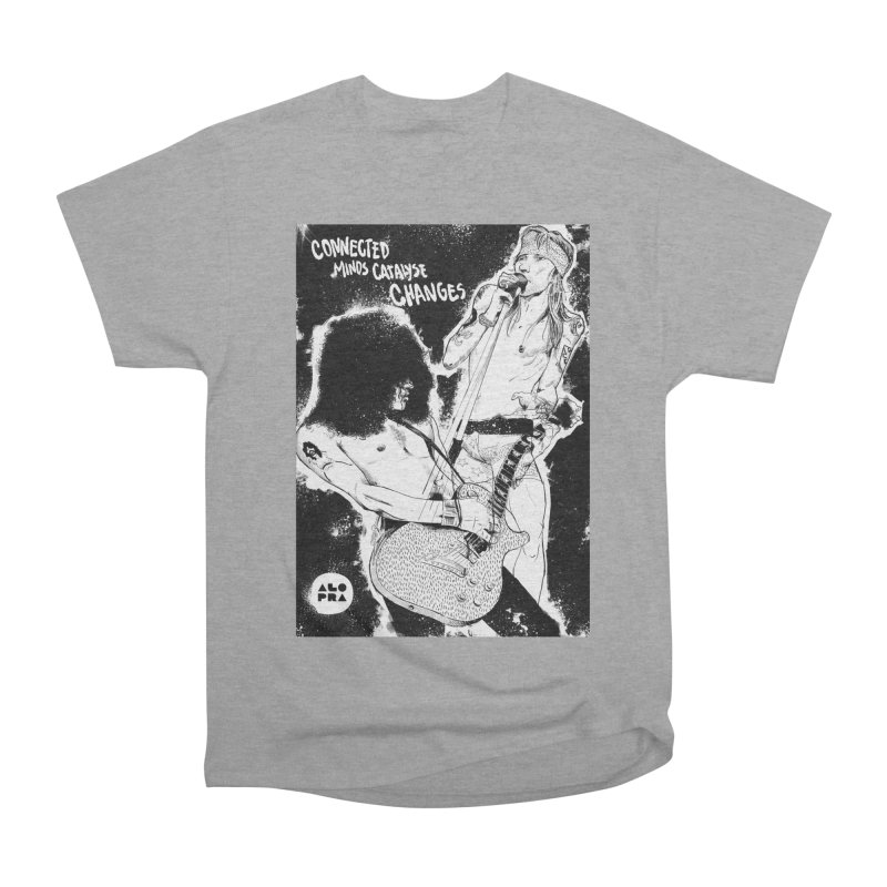 Alopra`s Axl and Slash | Connected Minds Catalyse Changes Women's Heavyweight Unisex T-Shirt by Alopra's Shop