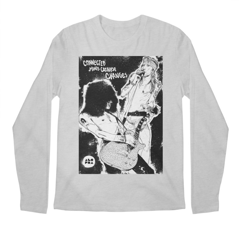 Alopra`s Axl and Slash | Connected Minds Catalyse Changes Men's Regular Longsleeve T-Shirt by Alopra's Shop