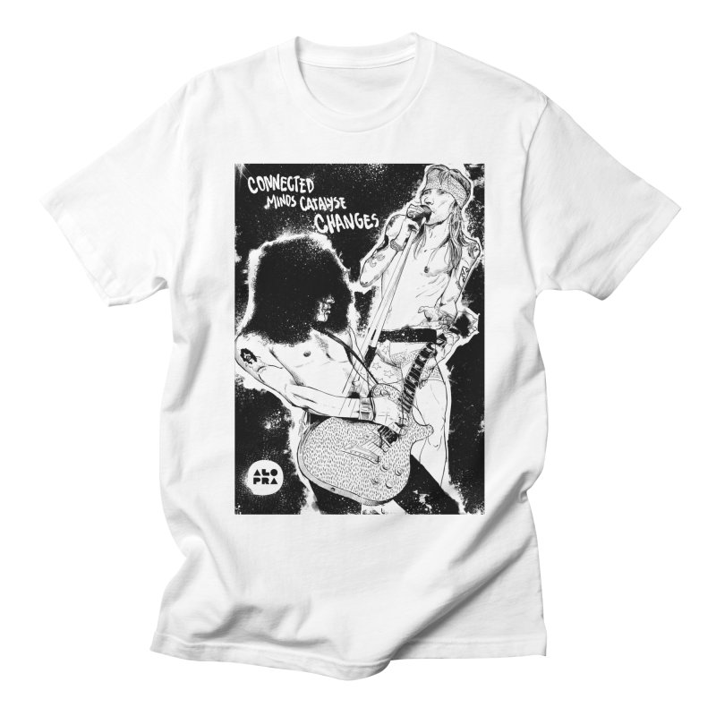 Alopra`s Axl and Slash | Connected Minds Catalyse Changes Men's Regular T-Shirt by Alopra's Shop
