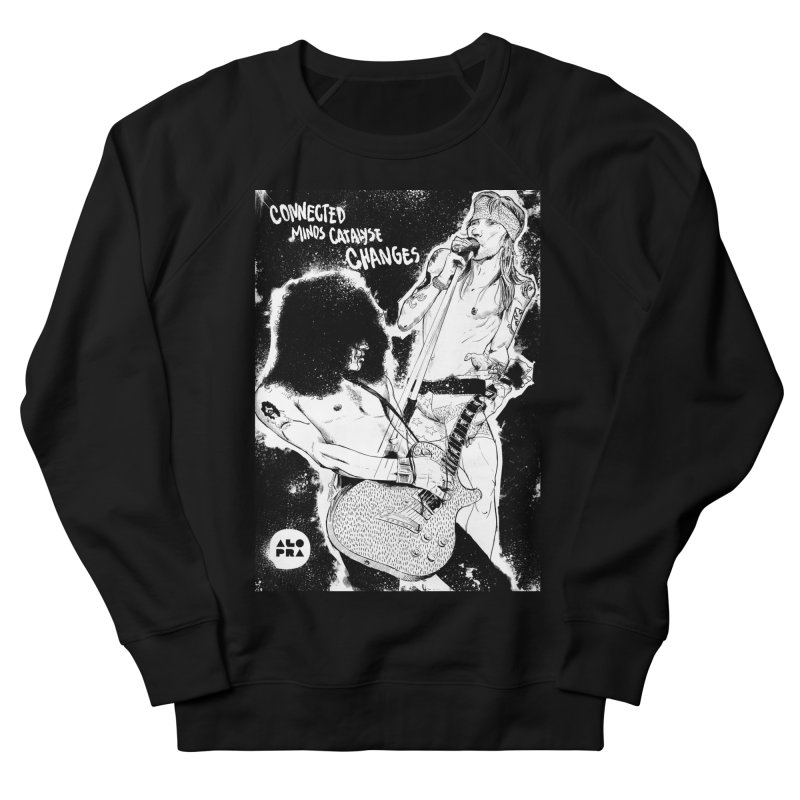 Alopra`s Axl and Slash | Connected Minds Catalyse Changes Men's Sweatshirt by Alopra's Shop