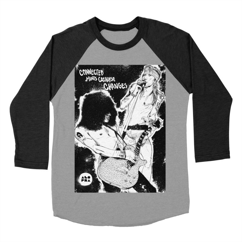 Alopra`s Axl and Slash | Connected Minds Catalyse Changes Men's Baseball Triblend Longsleeve T-Shirt by Alopra's Shop