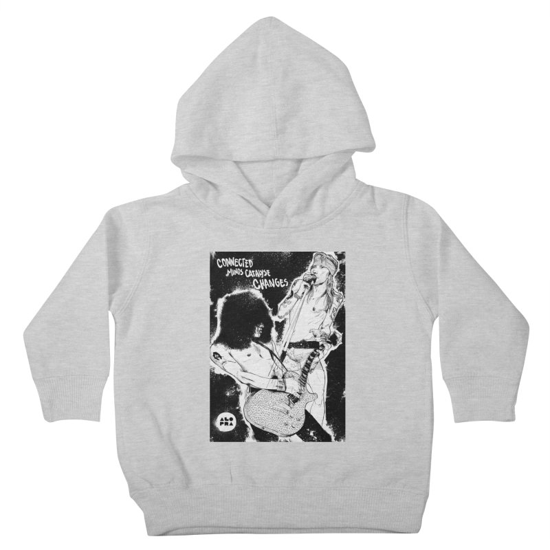 Alopra`s Axl and Slash | Connected Minds Catalyse Changes Kids Toddler Pullover Hoody by Alopra's Shop