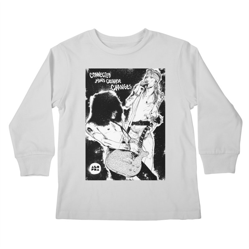 Alopra`s Axl and Slash | Connected Minds Catalyse Changes Kids Longsleeve T-Shirt by Alopra's Shop