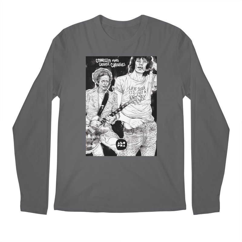 Alopra Studio`s Jagger and Richards | Connected Minds Catalyse Changes Men's Longsleeve T-Shirt by Alopra's Shop