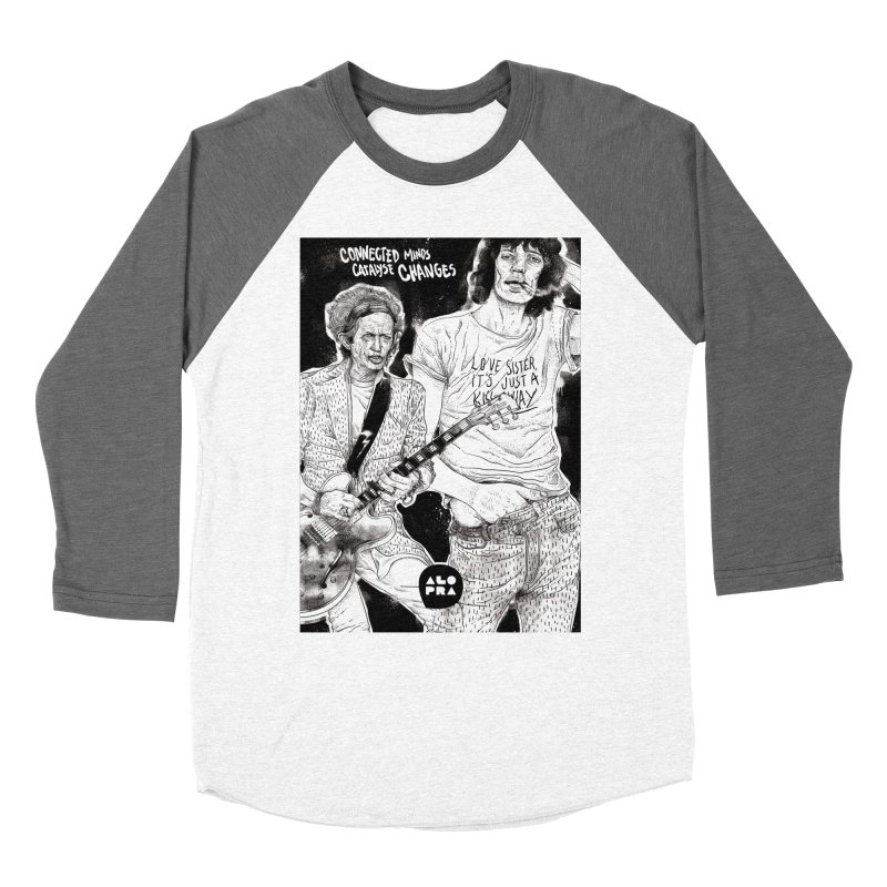 Alopra Studio`s Jagger and Richards | Connected Minds Catalyse Changes Women's Longsleeve T-Shirt by Alopra's Shop