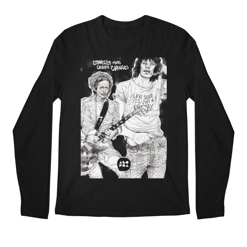 Alopra Studio`s Jagger and Richards | Connected Minds Catalyse Changes Men's Regular Longsleeve T-Shirt by Alopra's Shop
