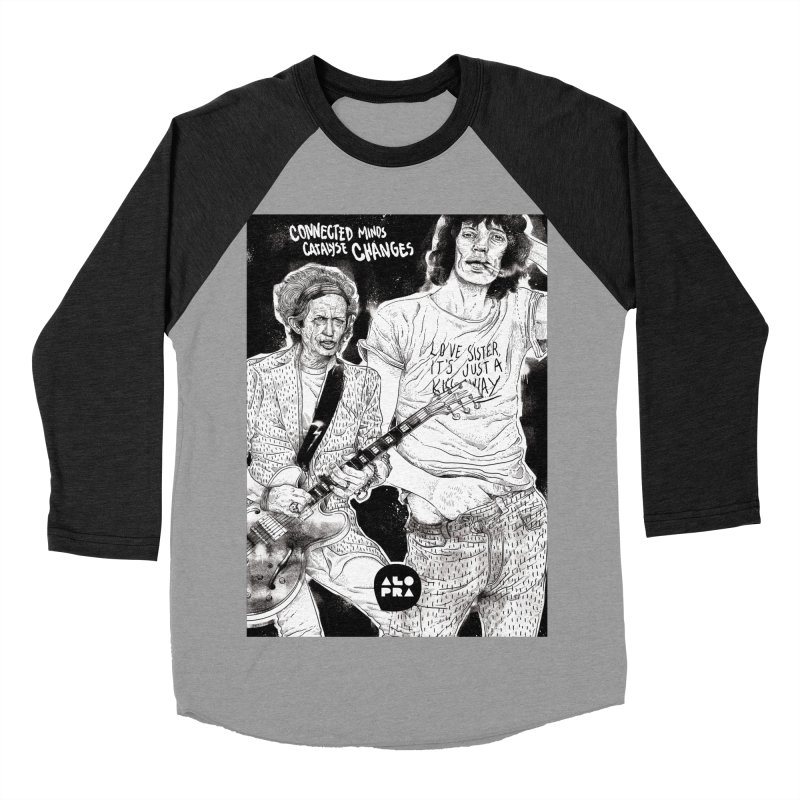Alopra Studio`s Jagger and Richards | Connected Minds Catalyse Changes Women's Baseball Triblend Longsleeve T-Shirt by Alopra's Shop