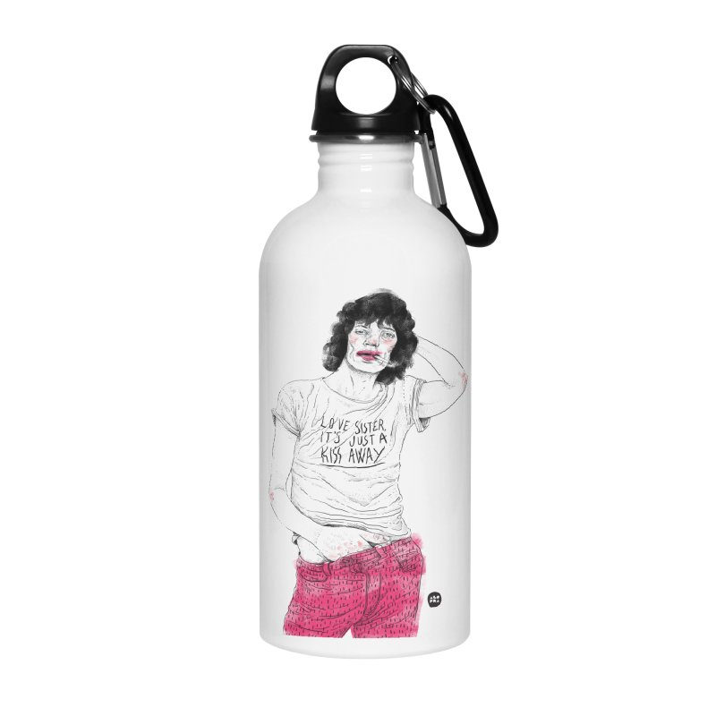 Alopra Studio`s Mick Jagger Accessories Water Bottle by Alopra's Shop