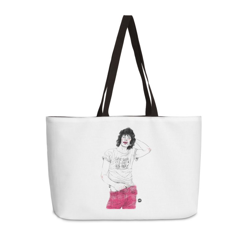 Alopra Studio`s Mick Jagger Accessories Bag by Alopra's Shop