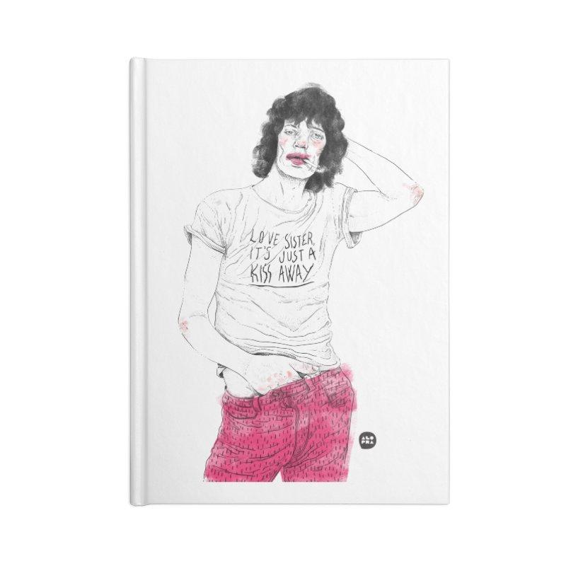Alopra Studio`s Mick Jagger Accessories Notebook by Alopra's Shop